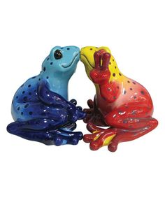 Kissing Frogs Salt & Pepper Shakers | zulily