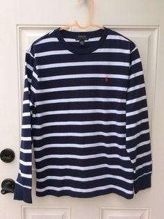 Polo Ralph Lauren Boys Large 14/16 Long Sleeve Shirt NWT #PoloRalphLauren #Everyday