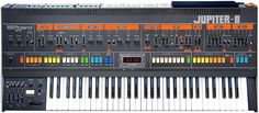 January 17, 2013 Classic Roland Synths // jupiter-8 Roland Synthesizer