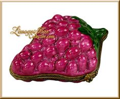 Grape Cluster Limoges Box (Retired).