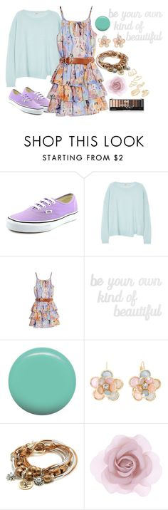 """""""Daughter Of Iris"""" by cfull ❤ liked on Polyvore featuring Vans, J Brand, GUESS by Marciano, PBteen, Jin Soon, Mixit, Lizzy James, Accessorize and Topshop"""