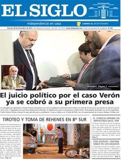 Diario El Siglo - Viernes 28 de Diciembre de 20 12