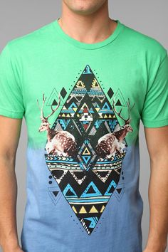 Deer Dip-Dye Tee Online Only. Perfect for the summer!!!