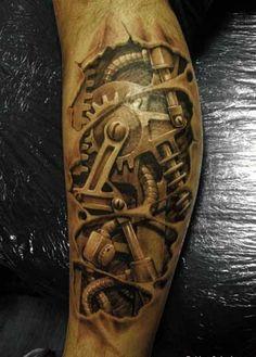 Limb mechanics tattoo