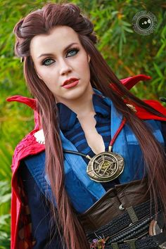 cosplay galleries featuring doctor strange by genevievenylen Costumes Marvel, Cool Costumes, Amazing Cosplay, Best Cosplay, Doctor Strange, Dr Strange Costume, Gender Bend Cosplay, Superhero Cosplay, Disney Cosplay Girls