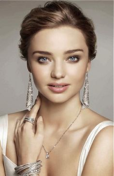 Miranda Kerr for the Swarovski Fall 2013 Campaign