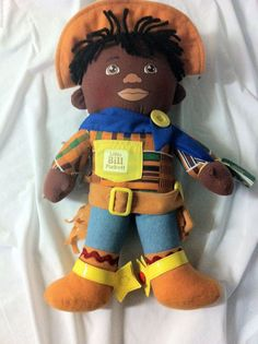 *VERY RARE COLLECTIBLE *PRICE DROP LITTLE BILLY PICKETT SOFT CLOTH RAG DOLL*HOT*