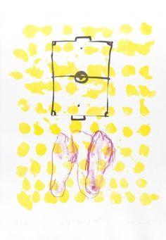 Art / Kunst, Print, Printmaking, Grafik, Druckgrafik, Artist/Künstler: Heike Keller, Title/Titel: Golden Goal, Technique/Technik: Lithograph & Screenprint   / Lithografie & Siebdruck, Price/Preis: 450,- €