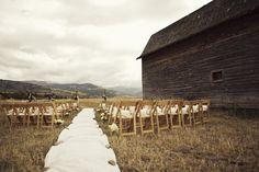 Barn Wedding. I love the rustic charm of this setting