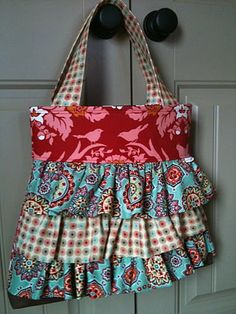 Really pretty ruffle bag