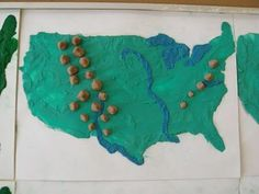 The Open Door Classroom D Landform Maps GEOGRAPHY Pinterest - Owl and mouse us features map