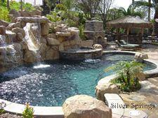 Dreamy backyard pool