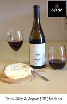 Wine and Cheese pairing: Pinot Noir and Jasper Hill Harbison
