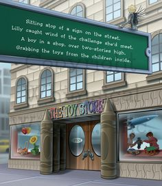 The second book of the series, The Toy Store, addresses the important issue of sharing. #lillythelash #childrensbooks #lifelessons #eyelashfairy