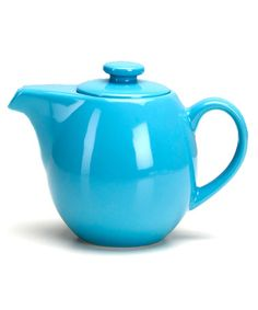 Take a look at this Turquoise Infuser Teapot by Omniware Inc.  on #zulily today!