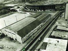 Estádio José Alvalade, em Lisboa, do Sporting Clube de Portugal, inaugurado em 1956 e demolido em 2003.