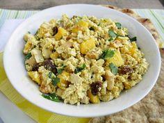 Mango Curry Tofu Salad
