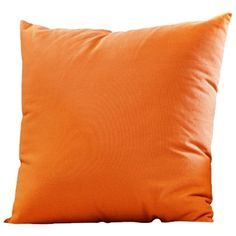 Orange Fashion Solid Pillow Sofa Cushion Bed Pillow ($28) ❤ liked on Polyvore featuring home, home decor, throw pillows, home textiles, throws & pillows, orange home accessories, orange toss pillows, orange throw pillows, orange accent pillows and orange home decor