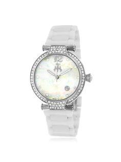 Jivago Women's JV2210 Bijoux White Ceramic Watch at MYHABIT