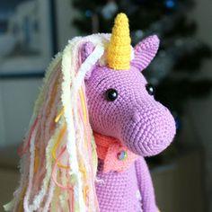 Let's create a fairy crochet unicorn together! The Shy Unicorn Amigurumi Pattern is designed for advanced skill level crocheters.