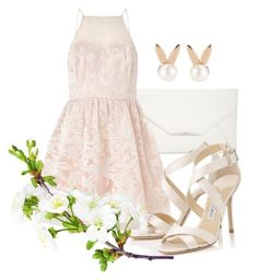 """No. 15"" by kirakirameru04 on Polyvore featuring Style & Co., Aamaya by priyanka, Lipsy and Jimmy Choo"