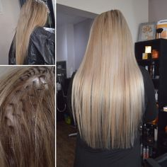Who's as brave as Rachel? Fabulous long hair cap high lights and toned Cap Highlights, Long Hair Highlights, Ice Blonde, Brave, Ash, Long Hair Styles, Beauty, Gray, Icy Blonde
