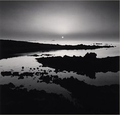 Michael Kenna - Sunset Over Elephant, Chausey Islands, France, 2008
