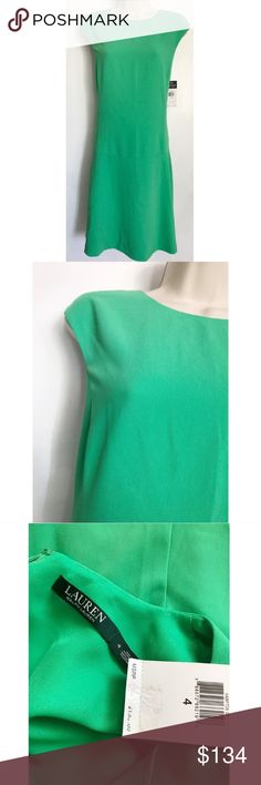 NWT Ralph Lauren Green Dress New with tag! Bought for $134, Great condition! Ralph Lauren Dresses