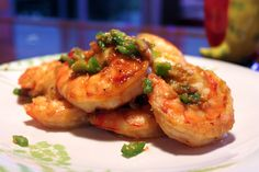 Habanero Honey Grilled Shrimp
