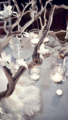 tea light table decor