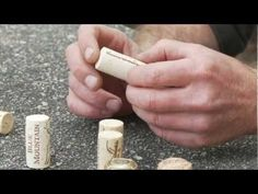 The choice of cork at the winery is based on years of experience and constant testing. Matt Mavety explains some of the rough science between cork selection,. Screw Caps, Wine Corks, Blue Mountain, Cellar, The Selection, Vineyard, Science, Bottle, Videos