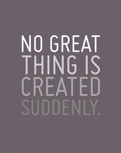 No Great Thing Framed Print