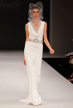 The Finest Vintage Inspired Bridal Gowns from NYC Bridal Fashion Week