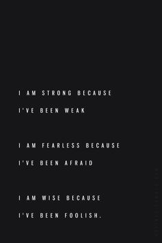 I am ready to be all I am, for all I've experienced, with no explanation or apology.