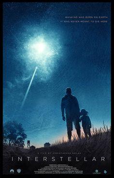 Interstellar Movie Poster | #movieposter #design