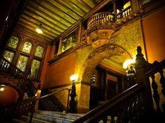 Flagler College Dining Hall entrance
