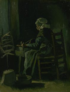 Woman Winding Yarn, 1885, Vincent van Gogh, Van Gogh Museum, Amsterdam (Vincent van Gogh Foundation)