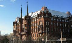 Szczecin/Stettin - Czerwony Ratusz, one of three town halls in Szczecin Town Hall, Poland, Cathedral, Europe, 3d, Country, City, Building, Travel