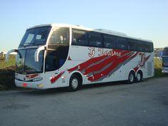 ÔNIBUS LUXUOSOS: ÔNIBUS DA EMPRESA TJ TURISMO Star Bus, Travel Companies, Busses, Volvo, Coaching, Tours, Vehicles, Chicken, Off Road Racing