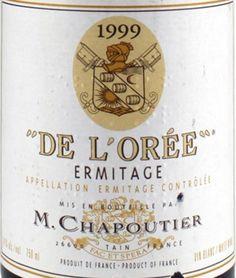 1999 M. Chapoutier Ermitage Blanc De L'Orée Magnum