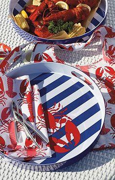 lobster tableware