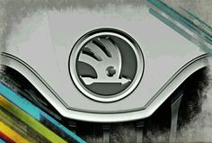 Skoda logo Car Brands, Toyota, Bmw, Logos, Vehicles, Artworks, Cars, Logo, Rolling Stock