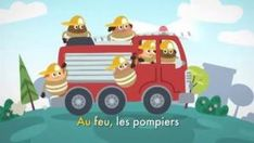 Au feu, les pompiers Radios, Baby Kids, Family Guy, Toys, Hello Kitty, Nursery Rhymes, Youth, Automobile, Fire Department