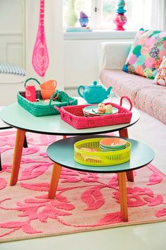 Colourful living space
