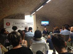 Steve McCurry talking with hacktravel guys #McCurry #SensationalUmbria #SU14 #hacktravel #hackaton #Perugia #mostra #Fotografia #Photography #exhibition #Umbria