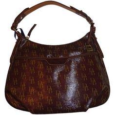 Dooney & Bourke  Women's Dooney and Bourke Purse Handbag East/West Collins Satchel Bordeaux