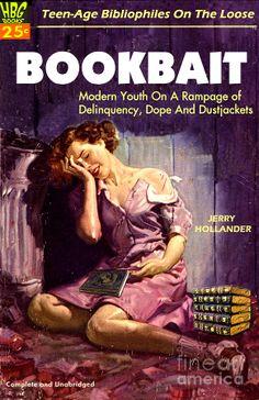 Bookbait Photograph  - Bookbait Fine Art Print