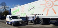 Kilkenny Chernobyl Children's Charity Truck on route to Belarus http://cargodefenders.town.ie/page/chernobyl-childrens-charity