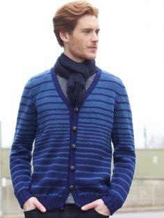 Transitions cardigan. Yarnspirations.com