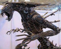 Scrap alien queen